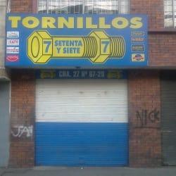Tornillos Setenta y Siete en Bogotá