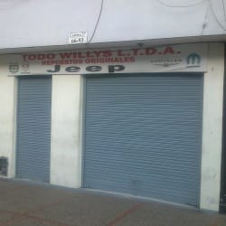 Todo Willys Ltda en Bogotá