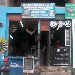 Radiadores la 8 en Bogotá