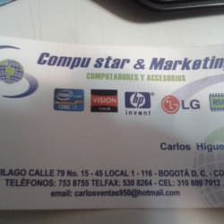 Compu Star Y Marketing en Bogotá