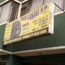 Solo Llantas R.M en Bogotá