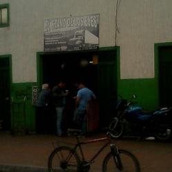 El Stand De Los Ejes en Bogotá
