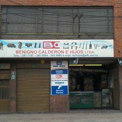Benigno Calderón E Hijos Ltda en Bogotá