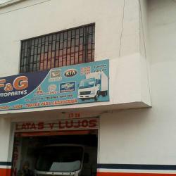 F&G Autopartes en Bogotá