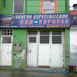Centro Especializado Car Express en Bogotá