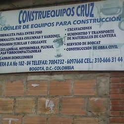 Construequipos Cruz en Bogotá