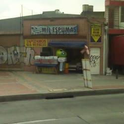 Mil Espumas en Bogotá