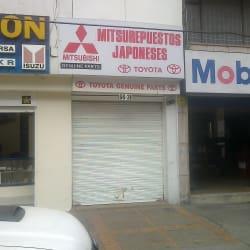 Mitsurepuesto Japoneses en Bogotá