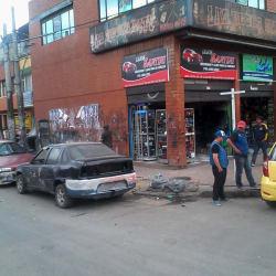 Lujos Santini en Bogotá