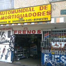 Automundial de Amortiguadores en Bogotá