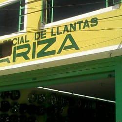 Comercial de Llantas y Rines Ariza en Bogotá