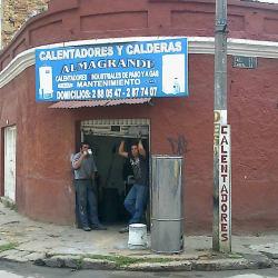 Calentadores y Calderas Almagrande en Bogotá