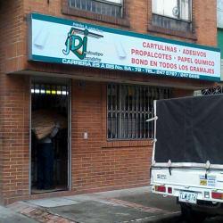 Papeles J.D.J en Bogotá