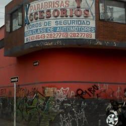 Parabrisas y Accesorios Ltda en Bogotá
