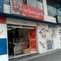 Restautante Bar la Quinta de O en Bogotá