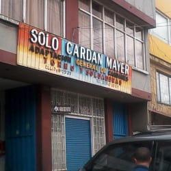 Solo Cardan Mayer en Bogotá