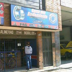 Casa del Rodamiento en Bogotá
