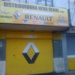 Distribuidora Neva Renol Ltda en Bogotá