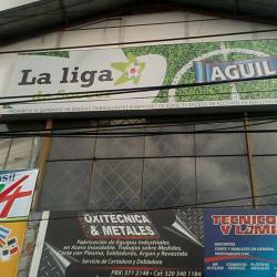La Liga De Soccer en Bogotá