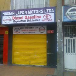 Nissan Japon Motors Ltda en Bogotá