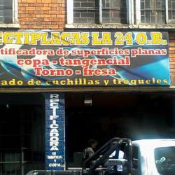 Rectiplacas La 24 en Bogotá
