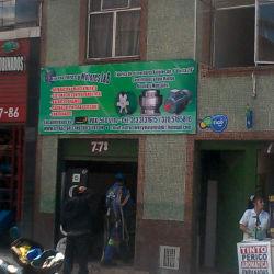 Extractores y Motores L&B en Bogotá