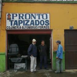 Pronto Tapizados en Bogotá