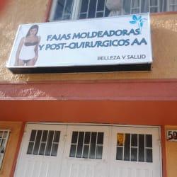Fajas Moldeadoras y Post-quirurgicos A.A en Bogotá