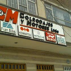 Colrodajes y Motores Ltda en Bogotá