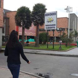 Parqueadero Centro Comercial Panamá en Bogotá