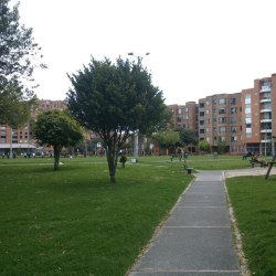 Parque Victoria Norte en Bogotá
