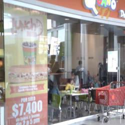 Sándwich Qbano Plaza de las Américas en Bogotá