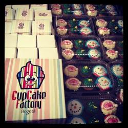Cupcakes Factory en Bogotá