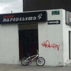 Inter rapidísimo Carrera 49 con Calle 128B en Bogotá