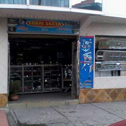 Fabri Sexta en Bogotá