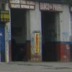 Banco de Prueba Avenida Primera de mayo  en Bogotá