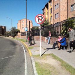 Parada 7 Alimentador Colsubsidio en Bogotá