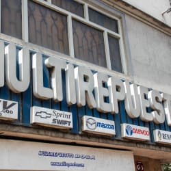 MultiRepuestos en Bogotá