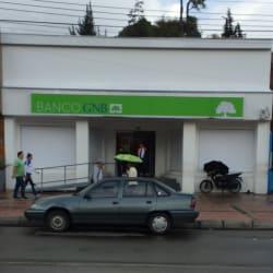 Banco GNB Calle 122 en Bogotá