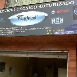 Servicio Técnico Autorizado Whirlpool en Bogotá