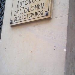 Universidad Autónoma de Colombia sede Postgrados en Bogotá