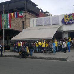 Parque de la 93 en Bogotá