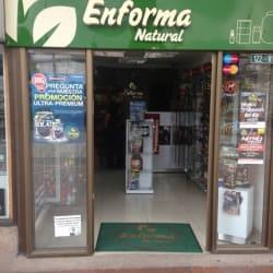 Tiendas Enforma Natural Unicentro en Bogotá