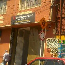Químicoplásticos en Bogotá