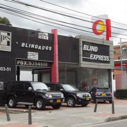 JRS Solórzano Automóviles Vitrina 4 en Bogotá