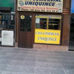 La Casa Comercial Uniquince en Bogotá