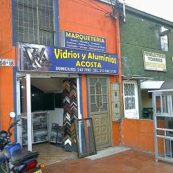 Vidrios y Aluminios Acosta en Bogotá