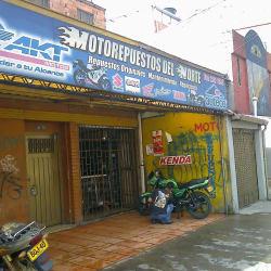 Motorepuestos Del Norte en Bogotá