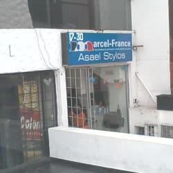 Marcel France Asael Stylos en Bogotá