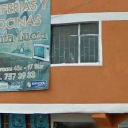 Griferias y Cocinas Santa Lucia en Bogotá